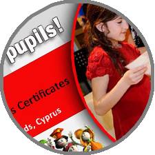 FUNecole® six year-old pupils receive the first ever in Cyprus Cambridge ICT Starters Initial Steps certificates!