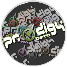 Logo for prodigy business management system