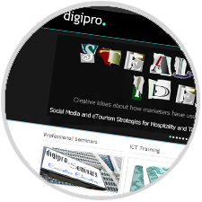 Digipro<sup>&reg;</sup> Website