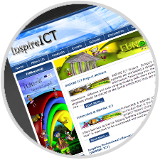 Inspire ICT website